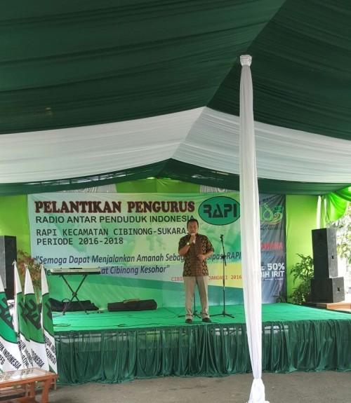 Pelantikan Pengurus RAPI Kecamatan Cibinong-Sukaraja Kab. Bogor