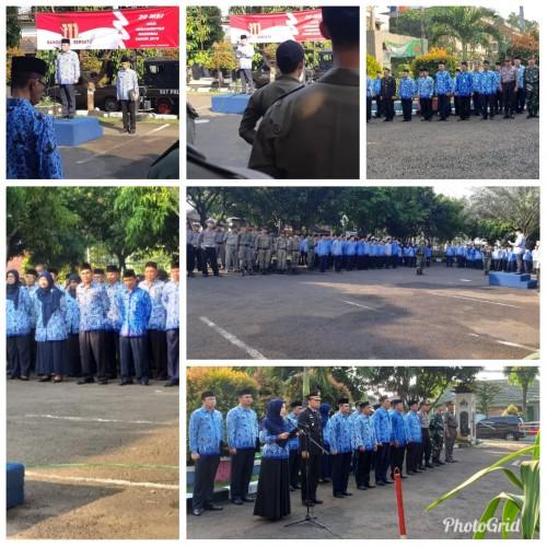 Upacara Peringatan Hari Kebangkitan Nasional ke 111 Tk Kec.Cibinong